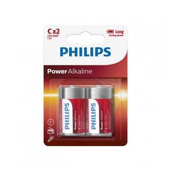 Pile electrice Philips LR14/ C POWERLIFE alcaline