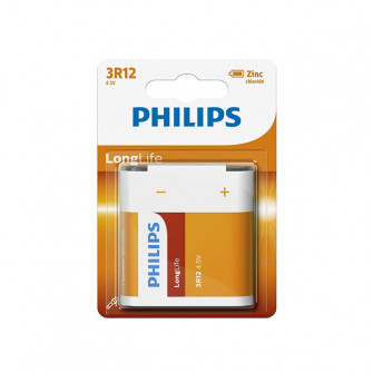 Pile electrice Philips 3R12 LONGLIFE