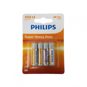 Pile electrice Philips R03 LONGLIFE