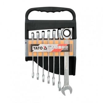 Set de chei combinate cu clichet Yato YT-0208
