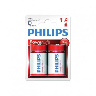 Pile electrice Philips POWERLIFE LR20 metal
