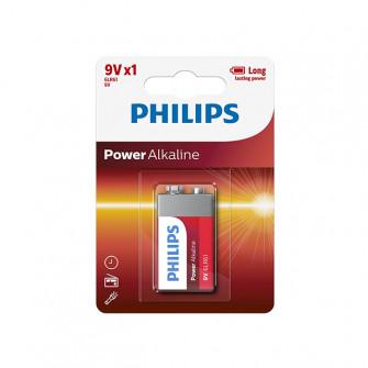 Pile electrice Philips 6LR61 alcaline