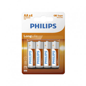 Pile electrice Philips R6LL LONGLIFE