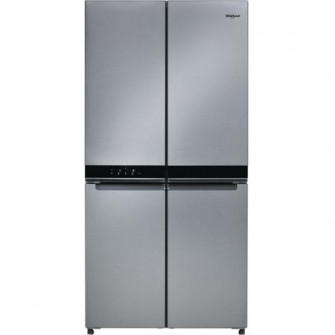 Side by side Whirlpool WQ9 B2L, 591 l, No Frost, 4 usi,
