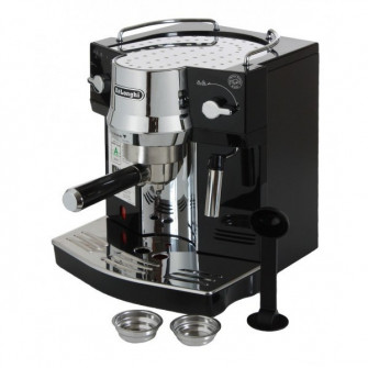 Espressor manual De'Longhi, EC820 B, 1450 W, 15 bar, 1
