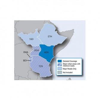 City Navigator Eastern Africa NT, micro SD/SD card