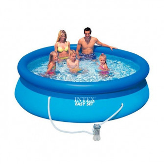 Piscina gonflabila Easy set Intex 28122 (305x76 cm 3853