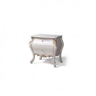 Noptiera Rozalia 2 KMK (White/Gold) 0524