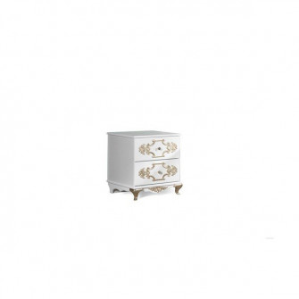 Noptiera Rozalia 3 KMK (White/Gold) 0543.2-02