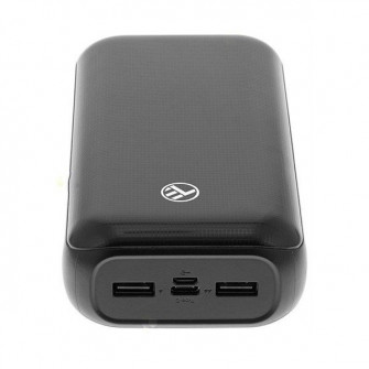 Powerbank Tellur 30000mAh Compact, 2xUSB, 1xType-C, (1.