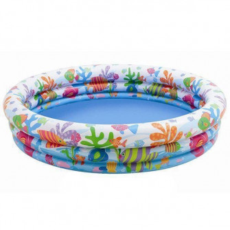 Piscina Junior Intex 59431 (132x28 cm 2+)