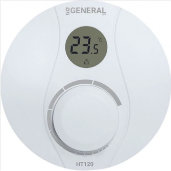 Termostat cu fir neprogramabil, digital HT 120
