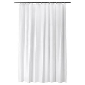 IKEA BJARSEN Perdea dus, alb, 180x200 cm