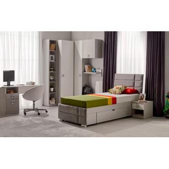 Dormitor Amigo 90 (gri) 2
