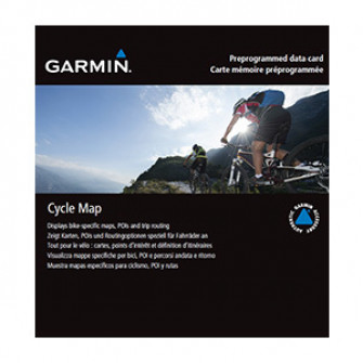Garmin Cycle Map, USA