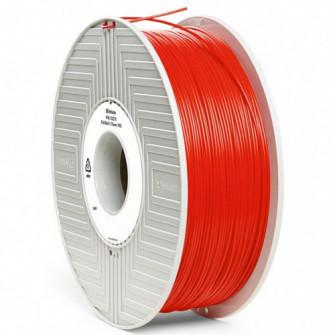 55270 VERBATIM 3D PRINTER FILAMENT PLA 1.75MM 1KG RED