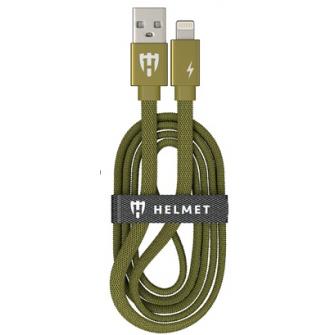 HELMET Kevlar Flat Lightning Cable - 1m, Camo