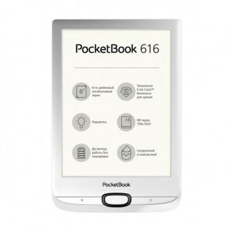 PocketBook 616, Matte Silver