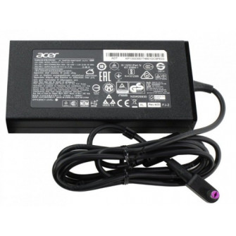 AC Adapter Charger For Acer 19V-7.1A (135W) Round DC Ja