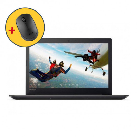 "Lenovo 15.6"" IdeaPad 330-15IKBR Black (+Cadou Mouse Logitech B170)"