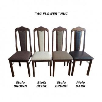 Scaun AG Flower (wenghe/nuc)