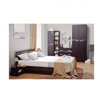Dormitor Bravo 160 (wenghe)