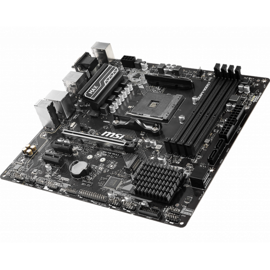 MSI B450M PRO-VDH MAX, Socket AM4, AMD B450