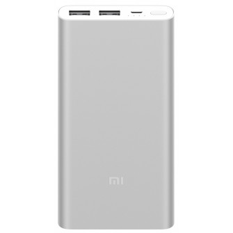 Xiaomi Power Bank 2S, 10000 mAh, Silver