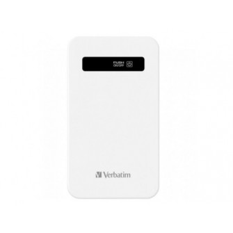 Ultra Slim Portable Power Pack 4200mAh Verbatim White 0