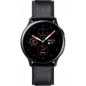 Galaxy Watch Active 2 44mm Stainless Steel, Black