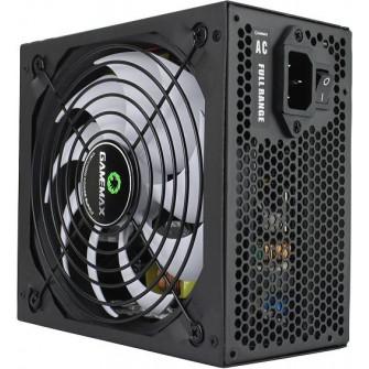 Power Supply ATX 500W GAMEMAX GP-500, 14cm Fan, 80+Bron