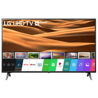 TV LED Smart LG, 49UM7100PLB, 4K Ultra HD, Black