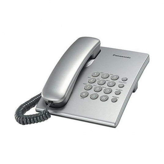 Telefon cu fir Panasonic KX-TS2350UAS, Silver