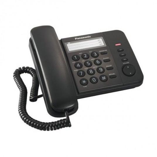 Telefon cu fir Panasonic KX-TS2352UAB, Black