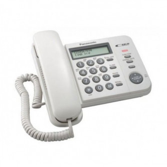 Telefon cu fir Panasonic KX-TS2356UAW, White