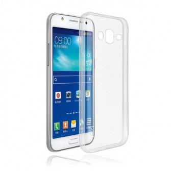 Husa Screen Geeks p/u Samsung E5 TPU ultra thin, alb