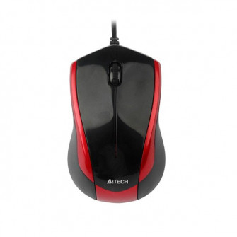 Mouse A4TECH N-400-2, Black/Red