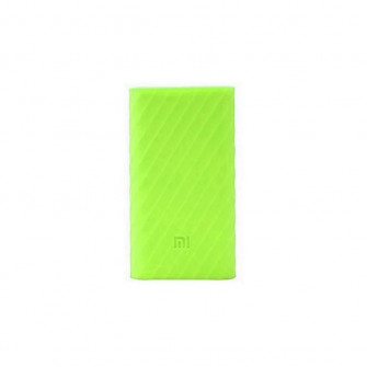 Silicon case for power bank Mi 2 10000mAh green