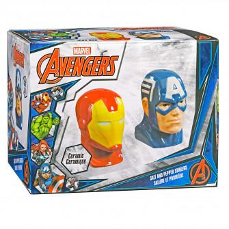 Underground Toys Marvel Salt & Pepper Shakers: Captain