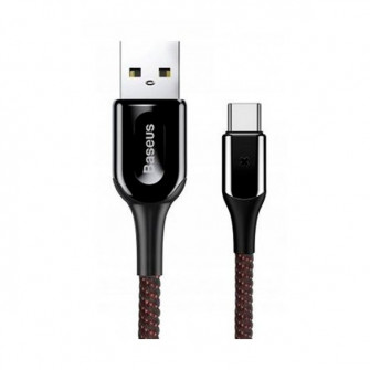 Cablu Baseus X-Type (CATXD-A01) Type-C 1m, Black