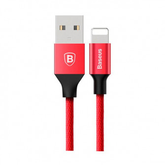 Cablu Baseus Yiven for Apple 1.2m, Red
