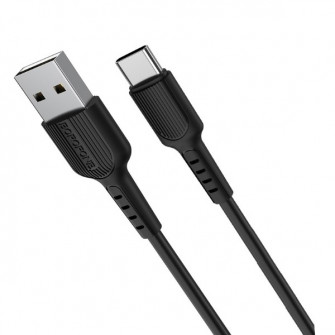 Borofone BX16 Easy charging cable for Type-C, Black