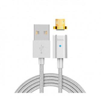 Cablu Hoco U16 Magnetic, Silver
