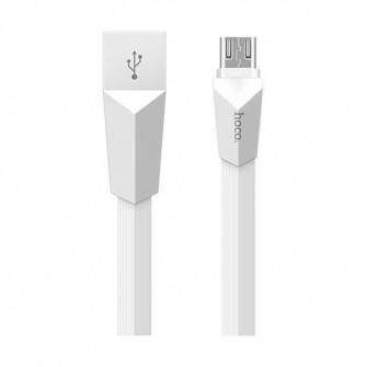 Cablu Hoco X4 Zinc Alloy rhombus (6957531041962) microU
