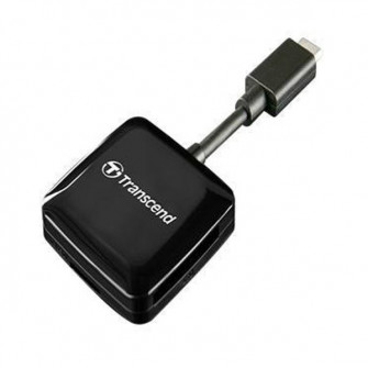 Card Reader Transcend TS-RDC2K OTG Type-C, Black