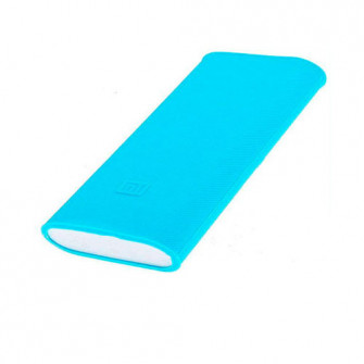 Silicon case for power bank Mi 2 10000mAh Blue