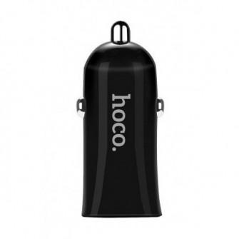 Incarcator auto Hoco Z12 Elite Dual USB, Black