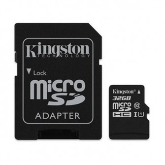 MicroSDcard Kingston Canvas Select (SDCS/32GB), 32 GB