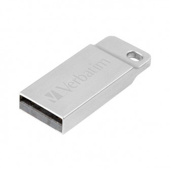 Verbatim Metal Executive (32 GB, USB 2.0), Silver