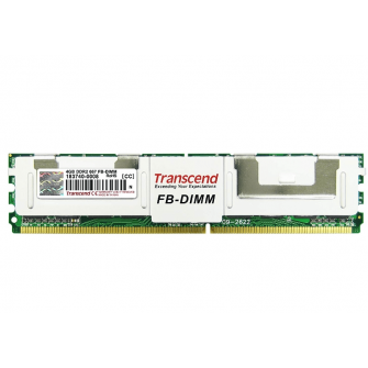 4GB Transcend DDR2-667, 240-Pin FB-DIMM ECC Fully Buffe